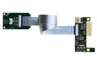 Flexible MiniPCI Express to PCI Express Adapter