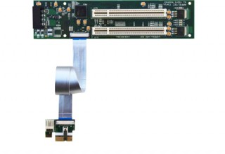 Flexible x1 PCI Express to PCI Adapter