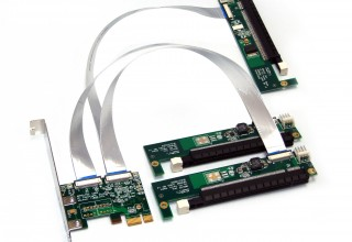 GPU-Oriented x1 PCIe 3-Way Splitter