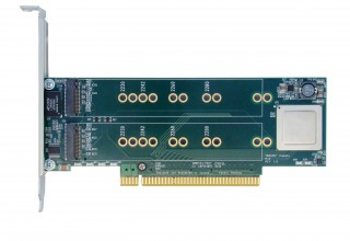 PCI Express Gen 2 Carrier Board for M.2 SSD modules